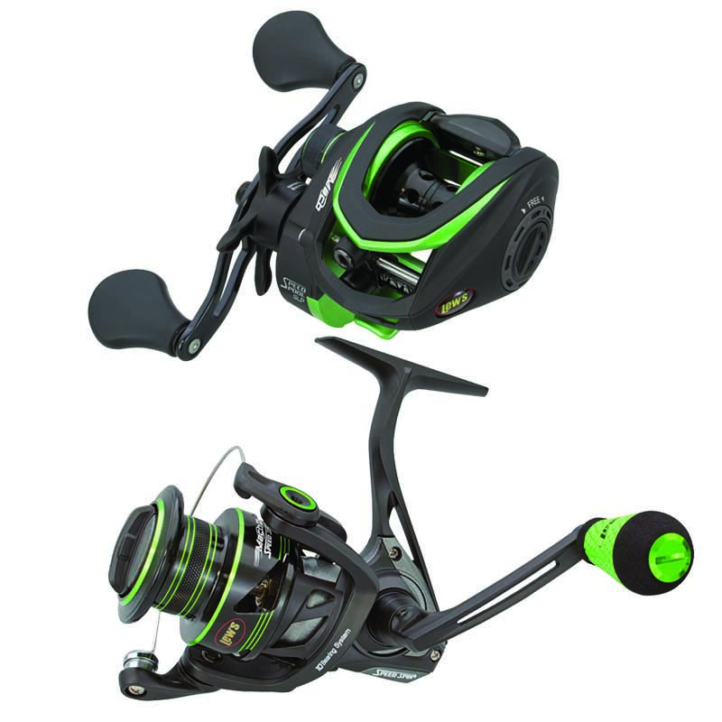 Lew's Mach Speed Spool Baitcasting / Spinning Combo Pack